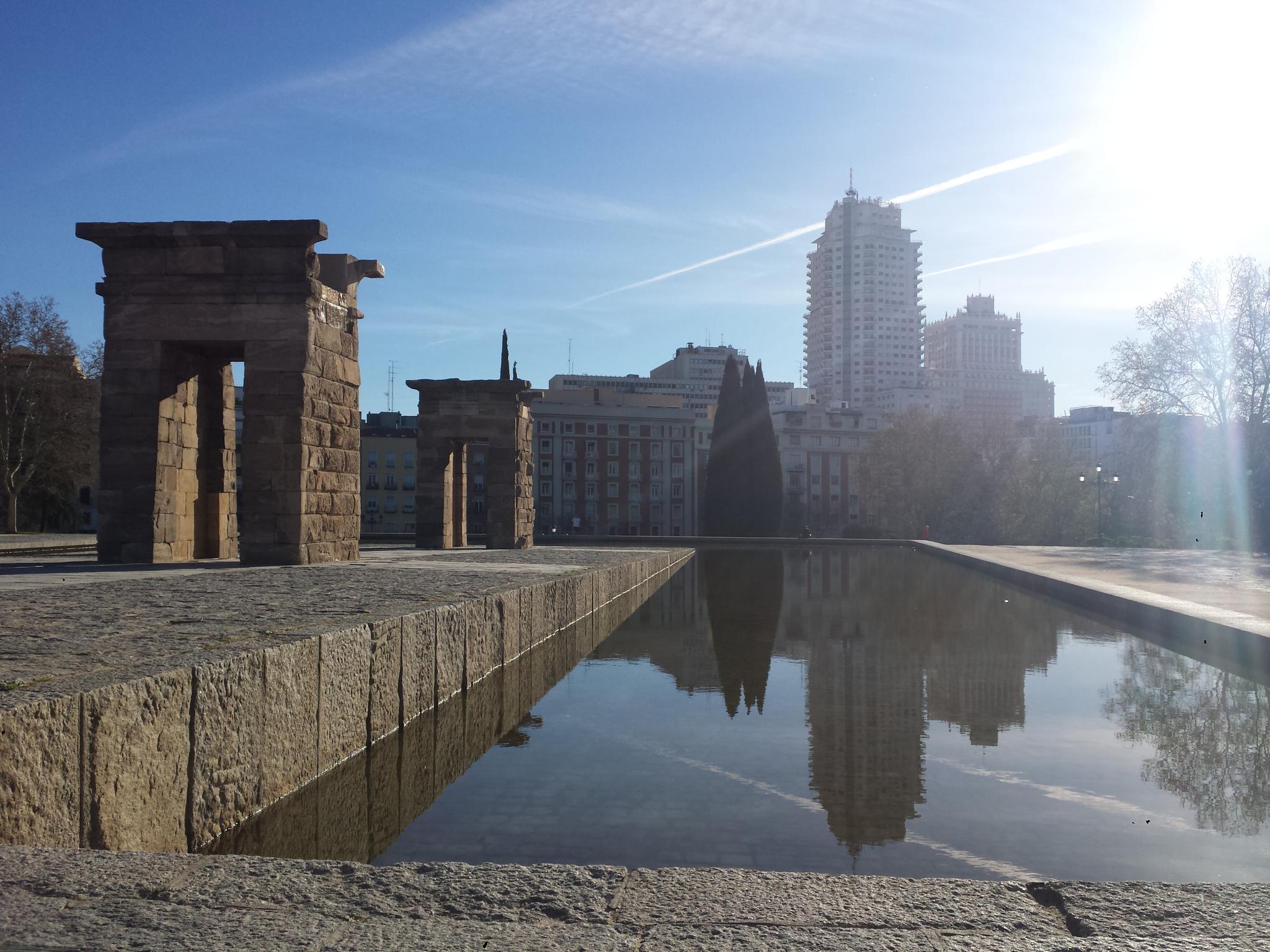 Tempo de Debod Madrid