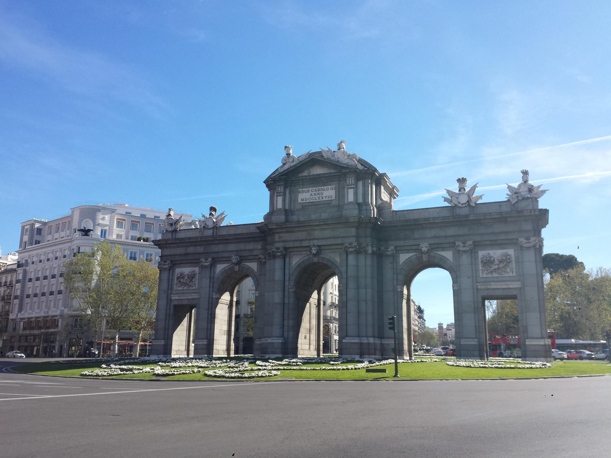 Puerta del Alcalá Madrid