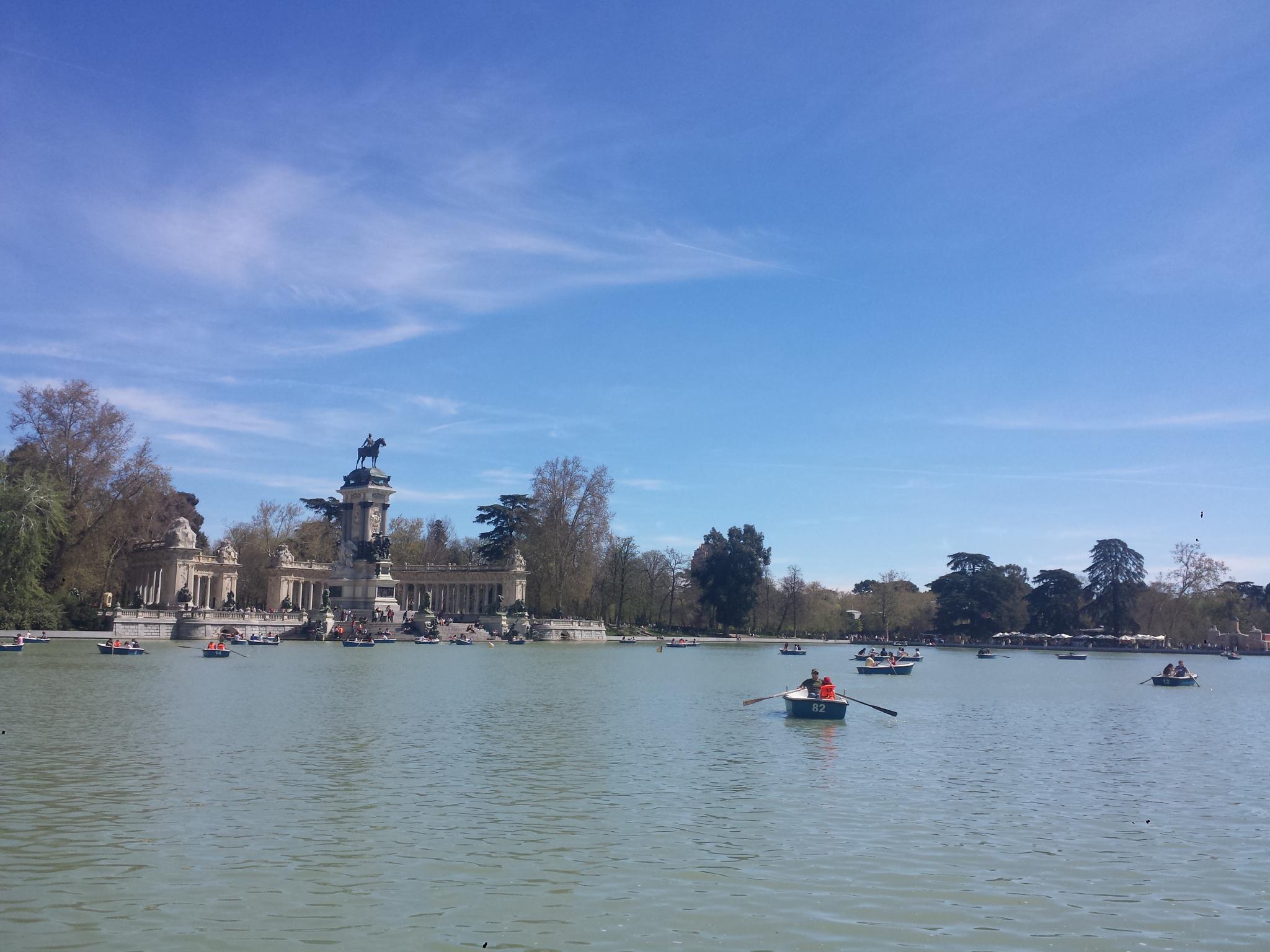 El Parque de Retiro - Madrid