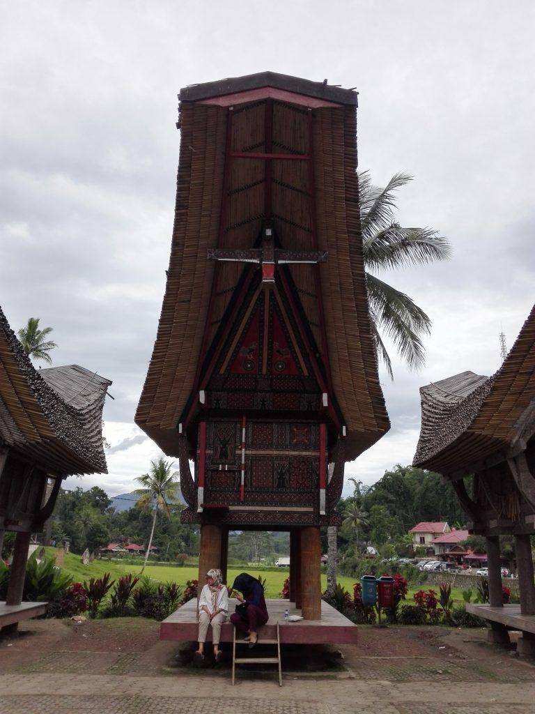 Tongkonan Dorf in Ketek Kesu in Südsulawesi