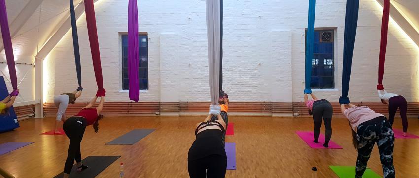 Aerial Yoga in Berlin