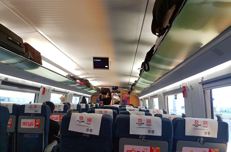 Zugwagon High Speed Zug in China